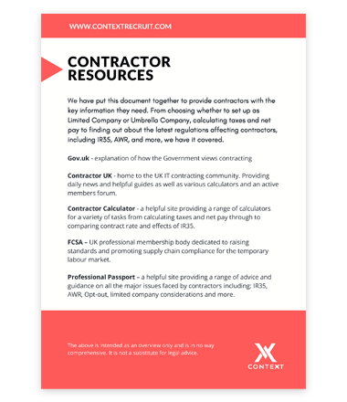 PDF Contractor Resources Cover